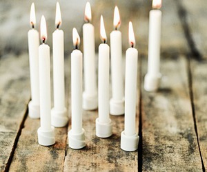 candles, interior, and white image