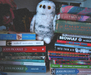 books, happiness, and harry potter image