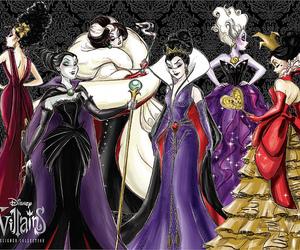 villains and disney image