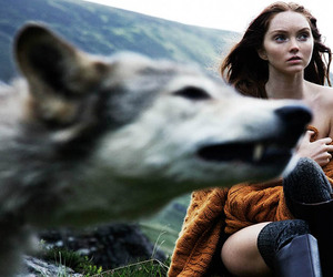 fashion, Olaf Wipperfurth, and wolf image