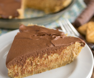 cream cheese, peanut butter, and pie image