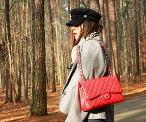 fashion, chanel bag, and outfit image