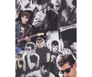 alex turner, arctic monkeys, and Collage image