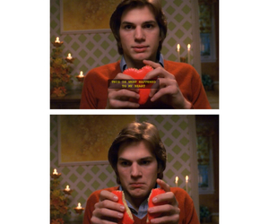 ashton kutcher, depressed, and heartbreak image