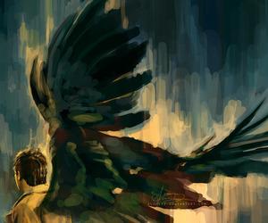 angel, supernatural, and castiel image