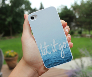 iphone, case, and let it go image