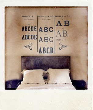 polaroid and typography image