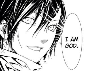 noragami, yato, and god image