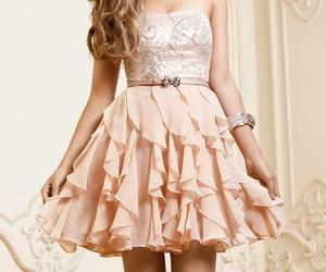 dress, cute, and flowery image
