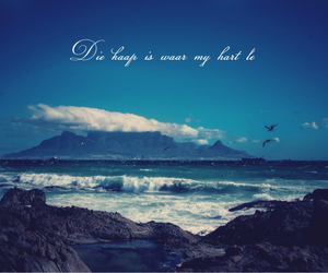 afrikaans, quote, and summer mood image