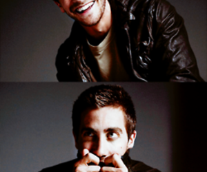 jake gyllenhaal, smile, and actor image