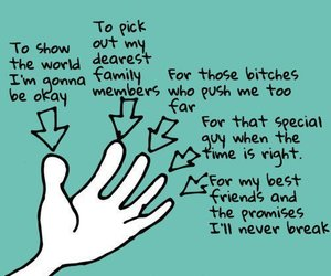 fingers, quote, and hand image