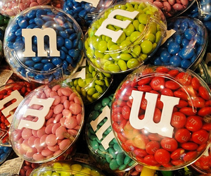 m&m, candy, and m&m's image