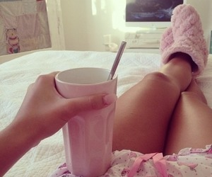 chilling, girly, and relax image