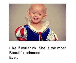 princess, beautiful, and cancer image