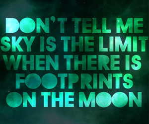 inspirational quotes and no limits image