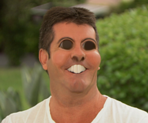 simon cowell, one direction, and funny image