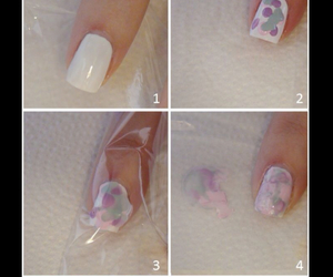 nails, nail art, and diy image
