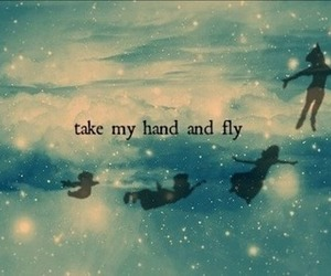 fly, peter pan, and Dream image