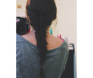 braid, camera, and fishtail image