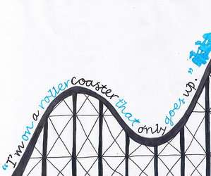 the fault in our stars, tfios, and Roller Coaster image