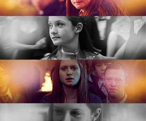 ginny weasley, harry potter, and bonnie wright image