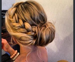 beautiful, blond, and braid image