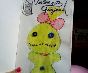 costura, lilo e stitch, and wreckthisjournal image