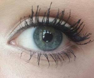 eye, grunge, and makeup image