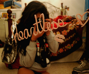 heartless, girl, and photography image