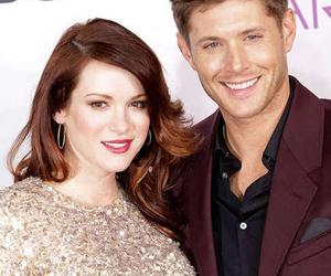 Jensen Ackles, supernatural, and danneel ackles image