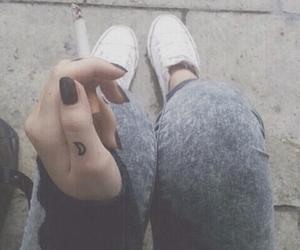 bad, cigarette smoke, and hipster image