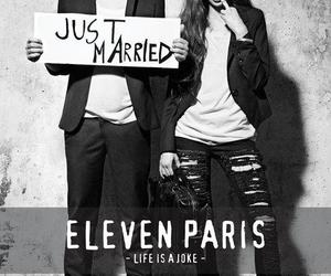 eleven paris, just married, and Ash Stymest image