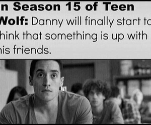 funny, teen wolf, and danny image
