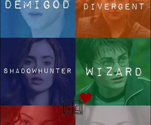 divergent, vampire, and wizard image