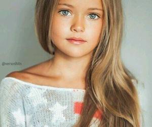 girl, kids, and blue eyes image