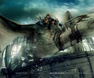 harry potter and dragon image