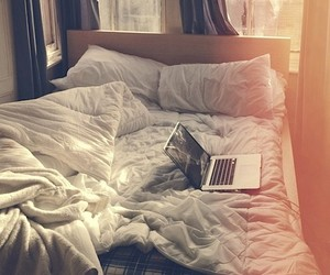 bed, fun, and photograph image