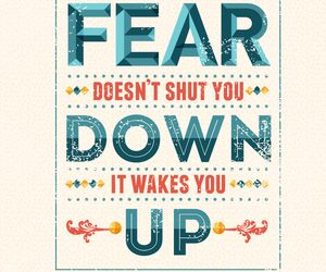 divergent, veronica roth, and fear image