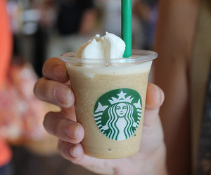 starbucks, yum, and drink image