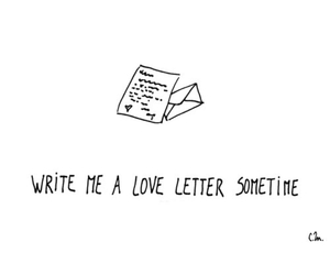 love, Letter, and cute image