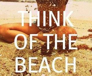 beach, summer, and keep calm image