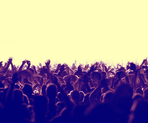crowd, music, and rave image