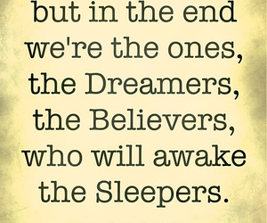 awake, dreamer, and dreamers image