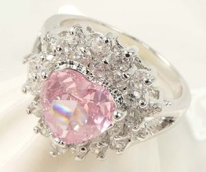 diamond, pink, and ring image