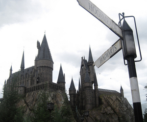 castle, florida, and harry potter image