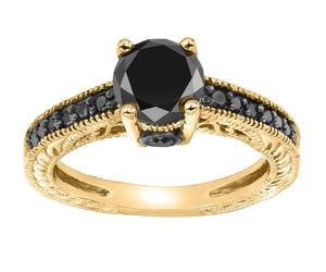 black, diamond, and gold image