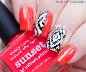 nail art, nails, and summery image
