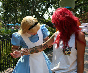 tattoo, alice, and disney image