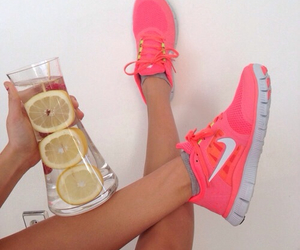 fitness, nikes, and summer image